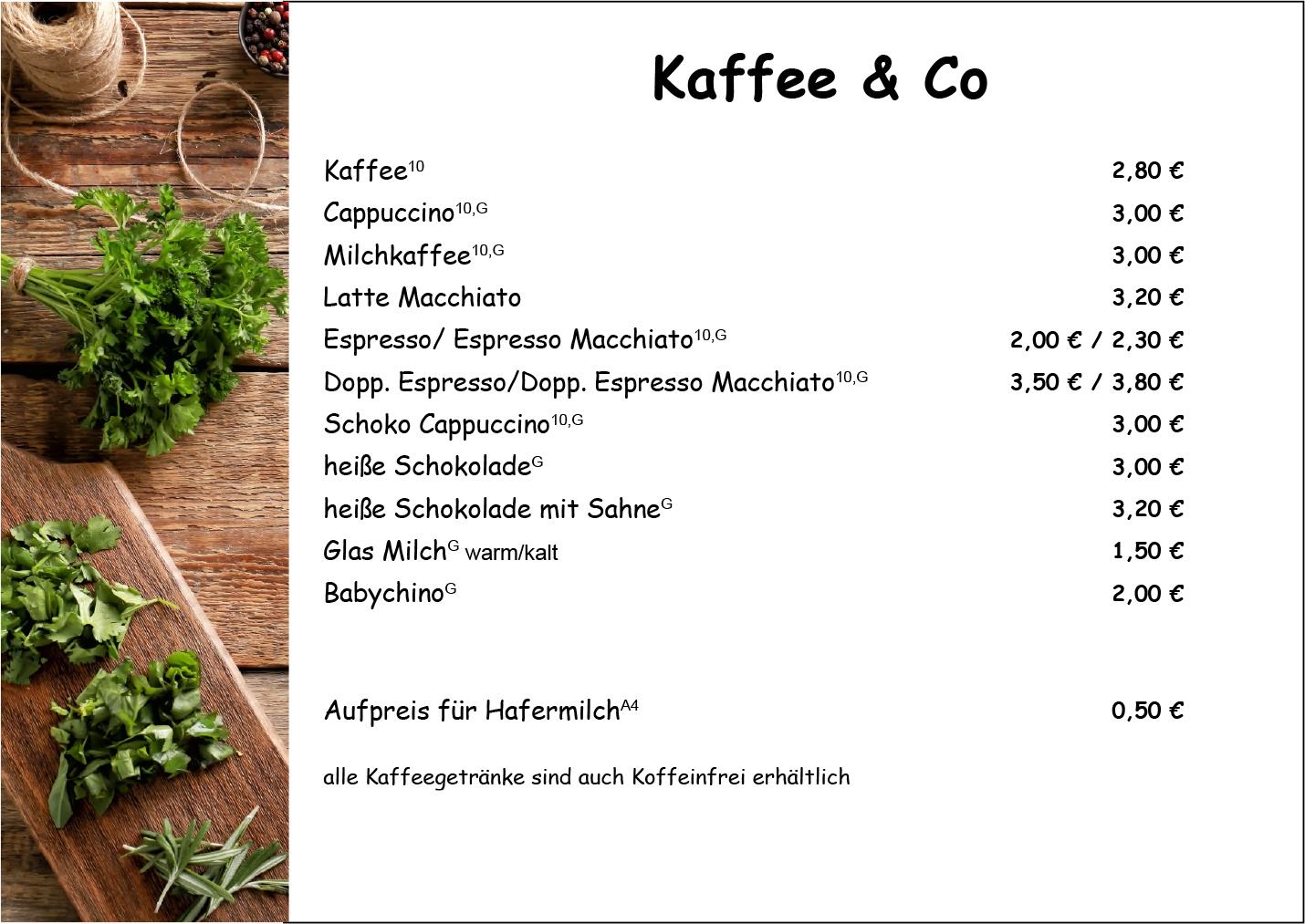 Kaffee Appenweier